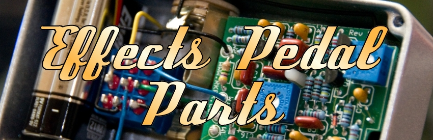 Effects Pedal Parts